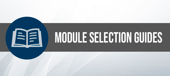 Enrolment Module Selection