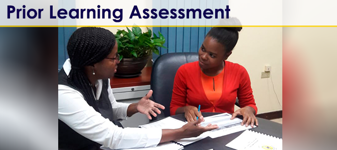 Prior Learning & Assessment 1