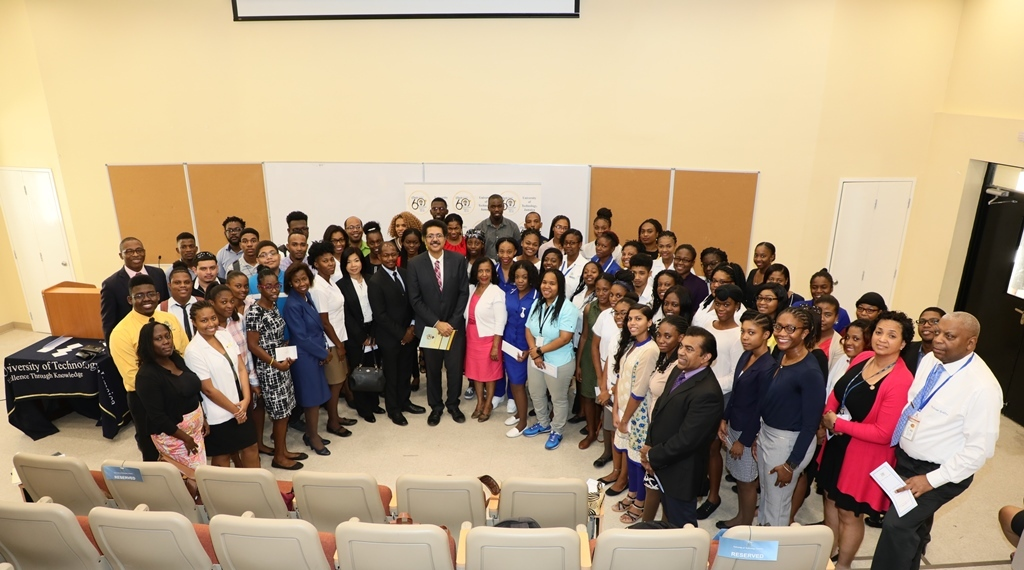 60 UTech, Jamaica Outstanding Students Awarded 60th Anniversary Scholarships