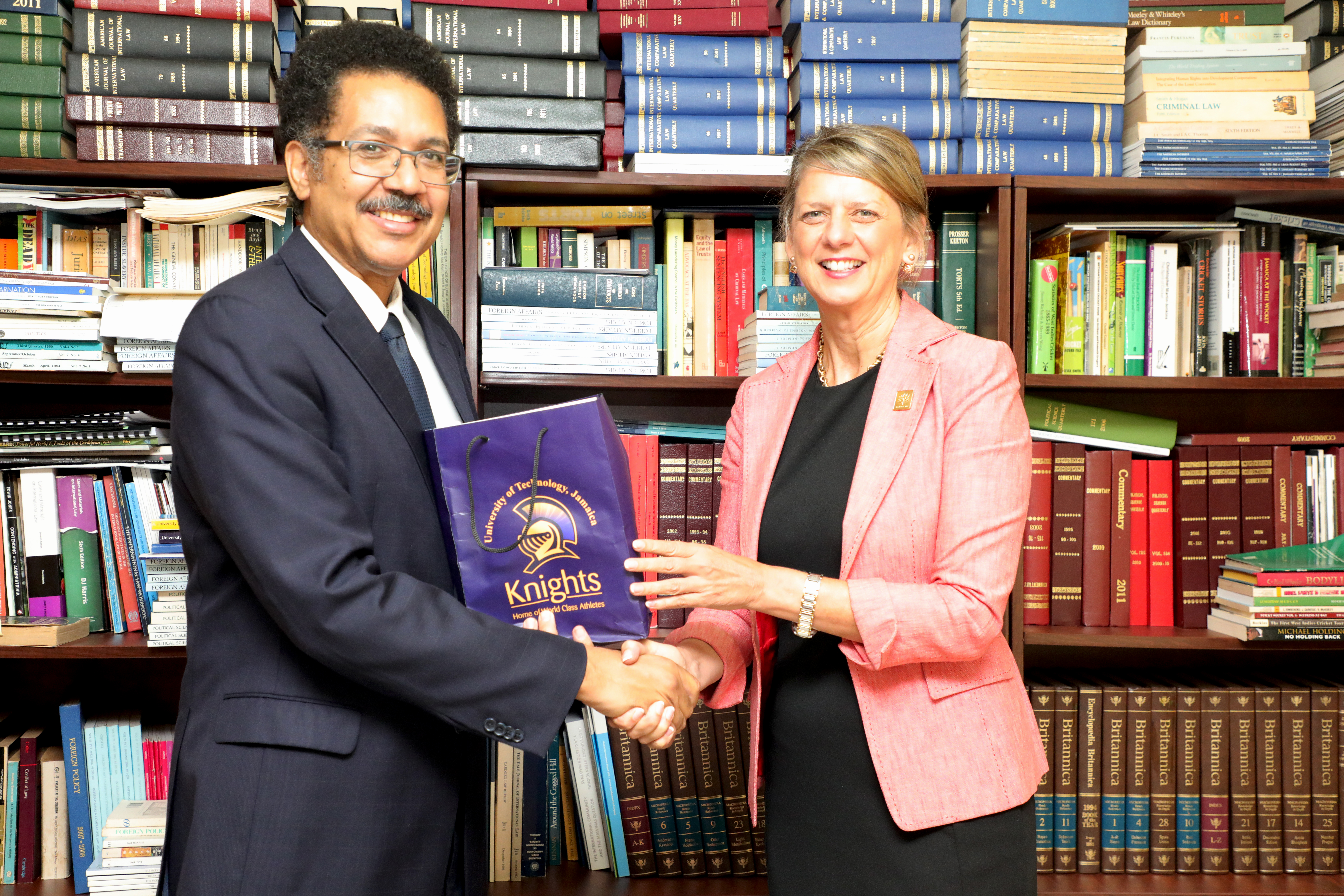 Canadian High Commissioner Visits UTech, Jamaica