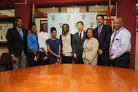 Five UTech, Jamaica Students Receive Scholarships from China's Ambassador to Jamaica