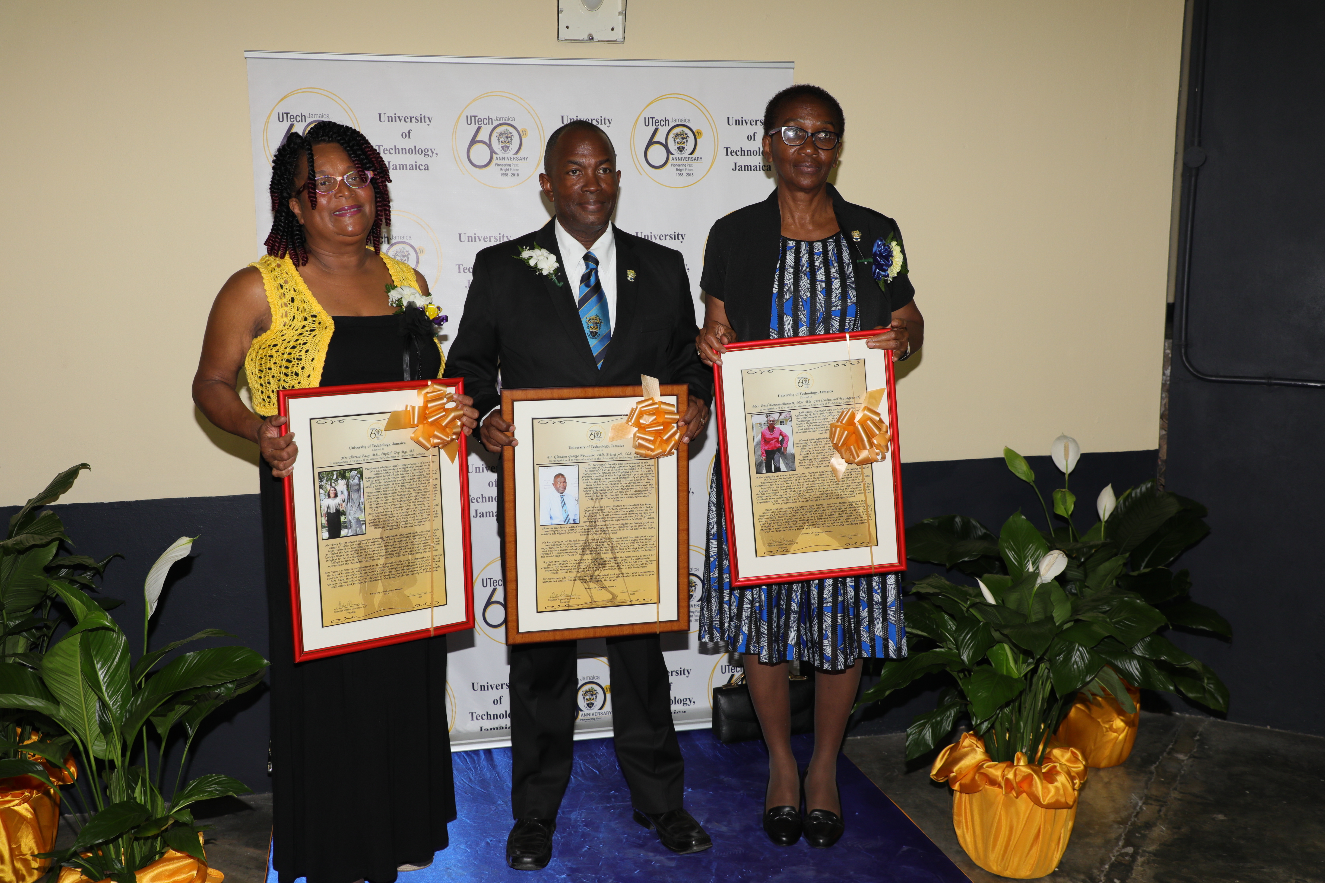 Staff Honoured at 48th Annual University Awards Ceremony