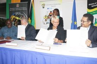 UTech, Jamaica and Ministry of Industry, Commerce, Agriculture & Fisheries sign $11M Contract to Assist Residents in Sugar Belts to Establish Businesses