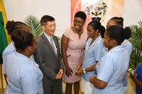 UTech, Jamaica Nursing Students China Bound