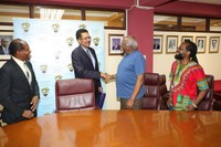 UTech, Jamaica Welcomes Dr. Julius Garvey