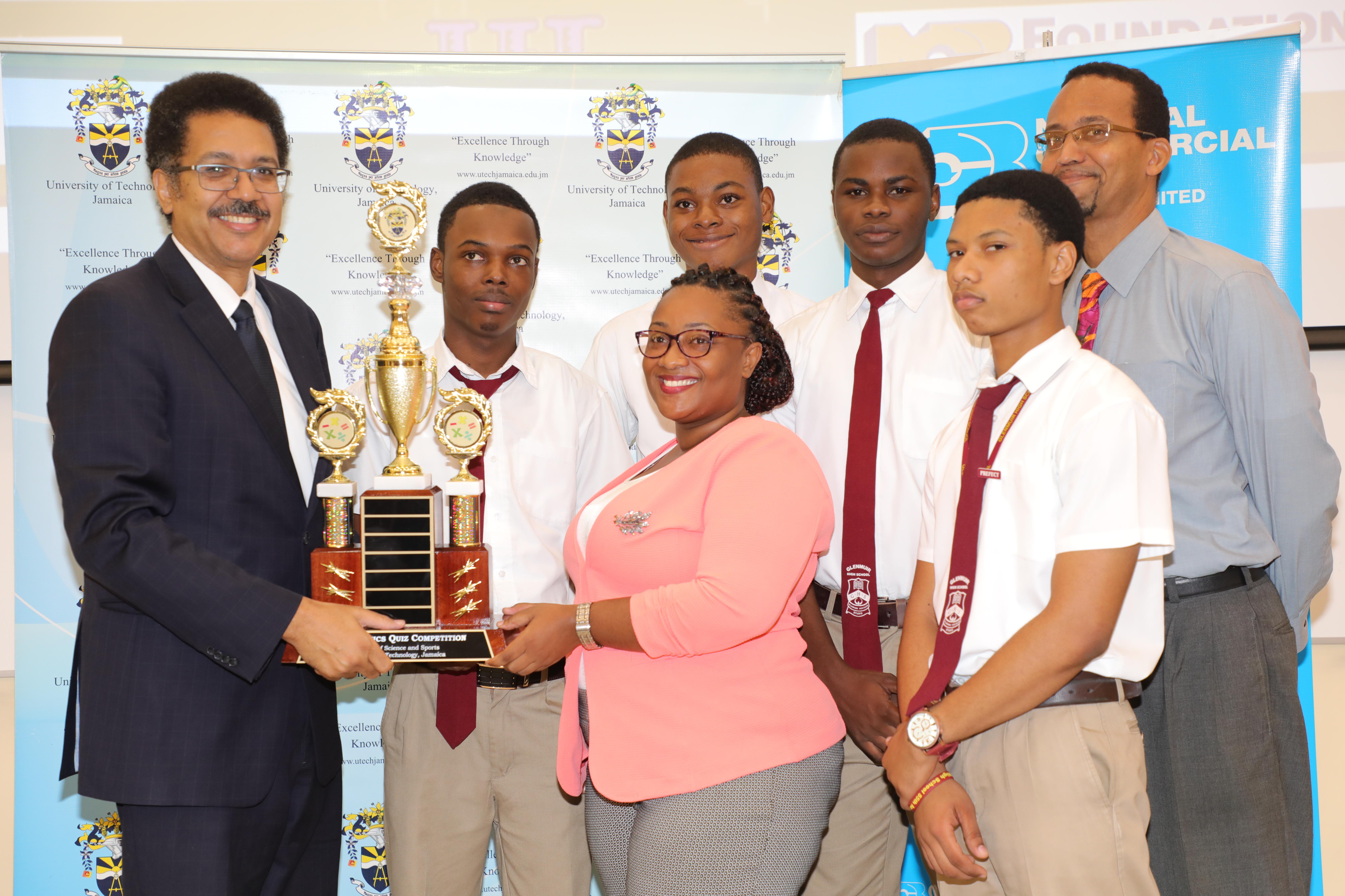 Glenmuir High School Wins Inaugural UTech, Jamaica Mathematics Quiz Competition