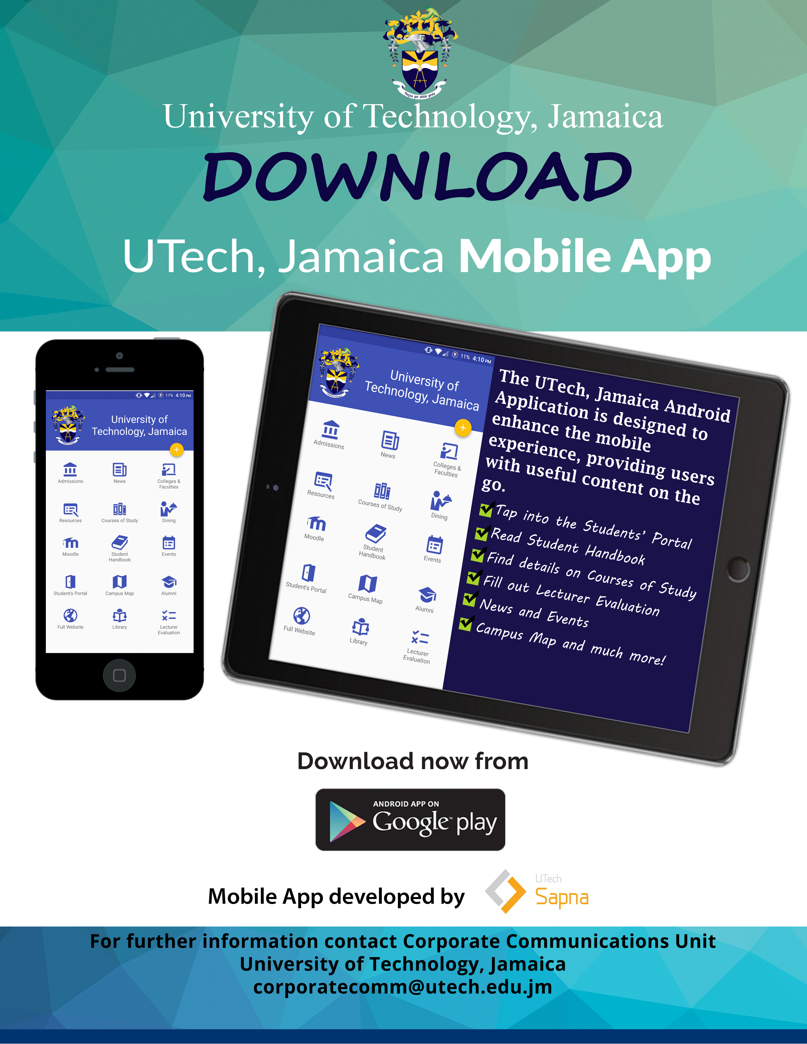 utech application How to order a transcript | utech, jamaica | doc date: 19-10-2017 page 1 of 4  university of technology, jamaica how to order transcripts/.
