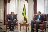 President Vasciannie Pays Courtesy Call on Prime Minister