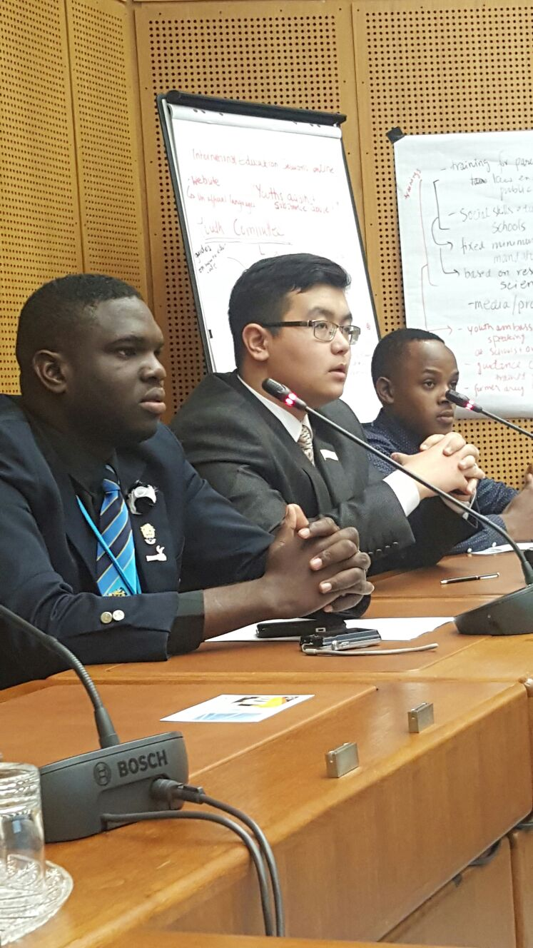 UTech, Jamaica Student Represents Jamaica at United Nations Commission on Narcotic Drugs